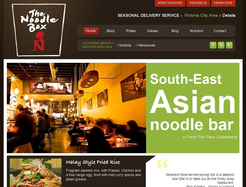 the noodle box restaurant victoria