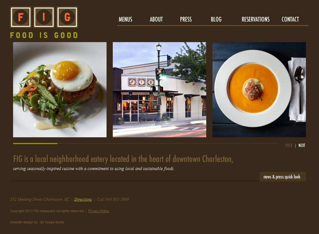 Restaurants Downtown Charleston Sc Fig