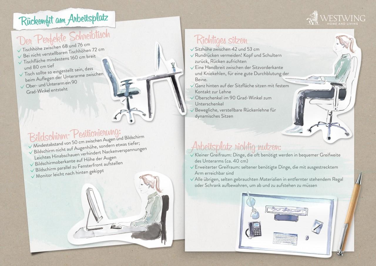 Rückenfit Infographik